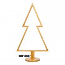 Albero di Natale Lotti con LED bianco caldo H 90 cm
