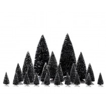 Alberi di Natale 21 pezzi Lemax villaggio