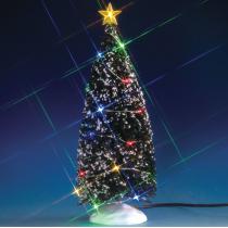 Albero di Natale multicolore Lemax villaggio