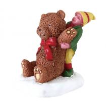 Lemax villaggio di Natale orso di peluches