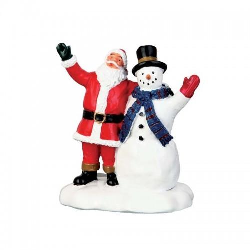Lemax villaggio di Natale saluti natalizi