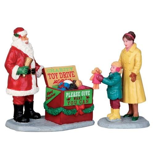 Lemax villaggio di Natale stagione dei doni