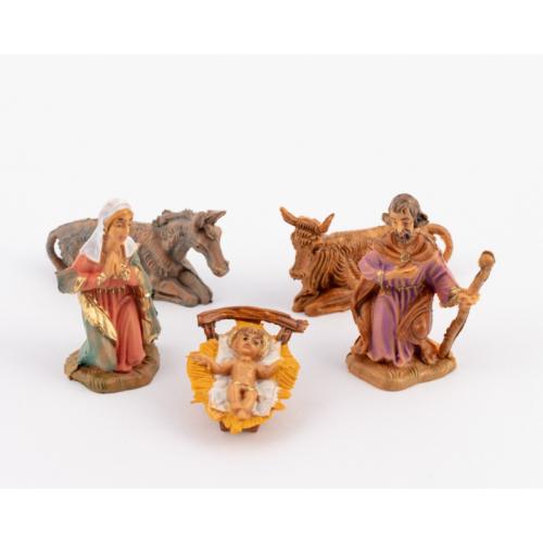 Natività presepe 5 pezzi 6.5 cm Fontanini