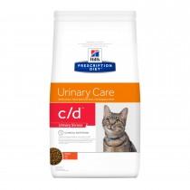 Crocchette gatti Hill's c/d urinary stress 400grammi