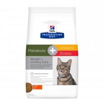 Crocchette gatti Hill's metabolic + urinary stress 1,5 Kg