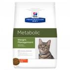Crocchette gatti Hill's metabolic con pollo 1,5 Kg