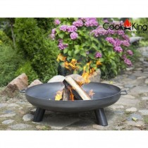 Bracere Fire bowl Bali in acciaio nero