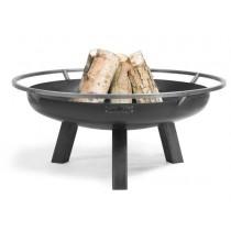 Bracere Fire bowl Porto in acciaio nero