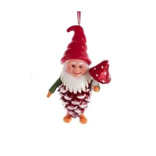 Addobbi albero di Natale Kurt S. Adler Gnomo pigna