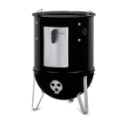 Weber affumicatore Smokey Mountain Cooker 37 cm nero