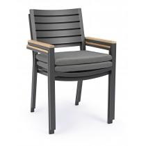 Sedia con braccioli Delmar Bizzotto 0663073