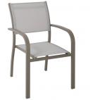 Sedia da giardino Greenwood Viareggio CHA56 in alluminio