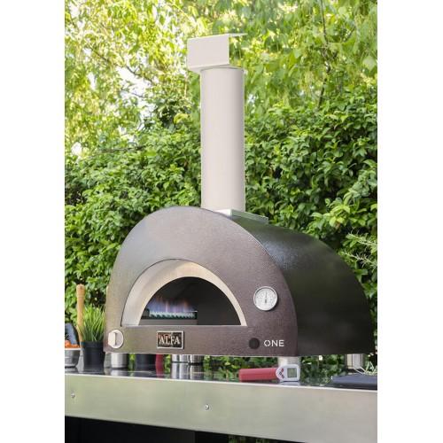Forno a gas Alfa Pizza One color rame