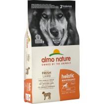 Crocchette per cani Almo nature holistic adult large agnello e riso 12 kg