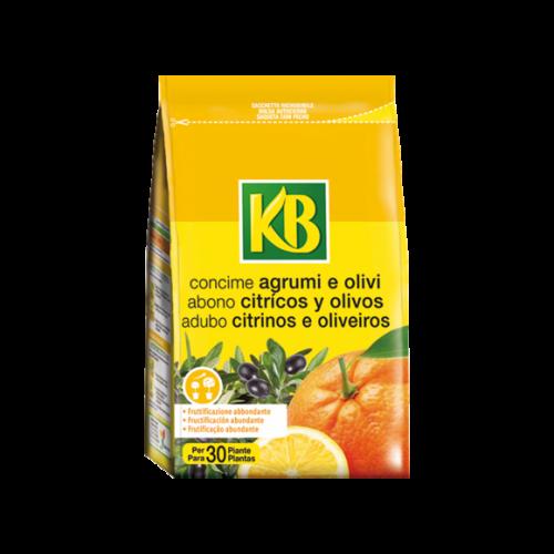 Concime granulare per agrumi e olivi KB 800 grammi