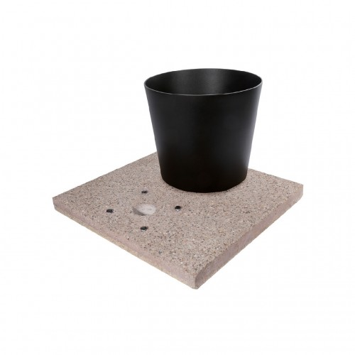 Base fontana Bel-Fer 42/BSE/3 con vaschetta antracite