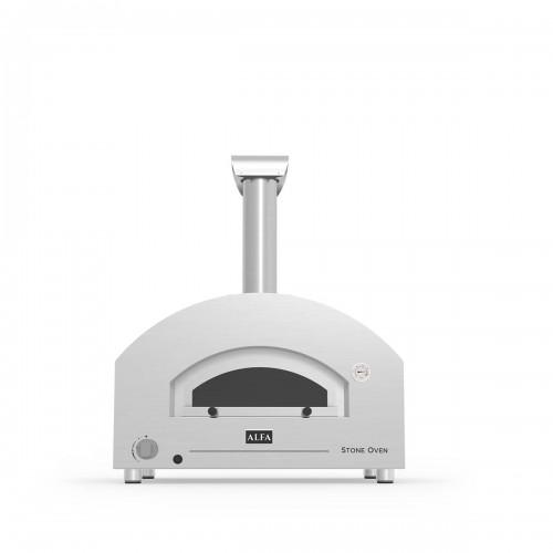 Forno a legna e gas Alfa Pizza Stone Oven ibrido