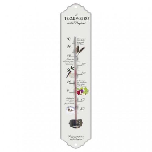 Termometro in metallo decorato Verdemax 4463