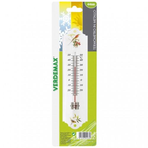 Termometro in metallo Verdemax 4466