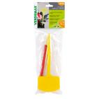 Etichette con gambo + matita Verdemax