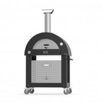 Carrello forno per Alfa Pizza Brio colore silver black