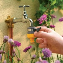 Raccordo rubinetto tondo Hozelock 2176
