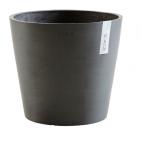 Vaso in plastica riciclata Ecopots Amsterdam 17 cm