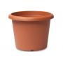 Vaso cilindrico Plastecnic Terrae 35