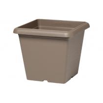 Vaso quadrato Plastecnic Terrae 35