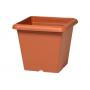 Vaso quadrato Plastecnic Terrae 40