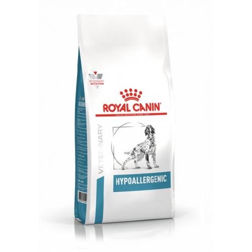 Crocchette per cani Royal Canin veterinary Hypoallergenic 14 Kg