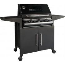 Barbecue a gas Il Bracere Beefeater Discovery 1000E con carrelo