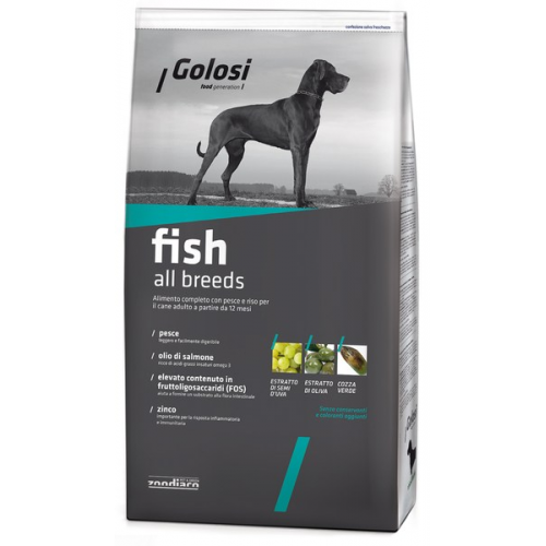 GOLOSI Fish All Breeds - Sacco 12kg