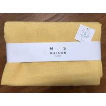 Tovaglia antimacchia da tavola Korin Maison Sucree colore giallo