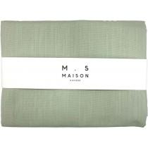 Tovaglia da tavola in lino e cotone Maison Sucree Essenziale color salvia