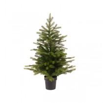 Albero di Natale mini verde Kaemingk Grandis 63 cm