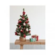 Albero di Natale addobbato Kaemingk Imperial pine mini 75 cm