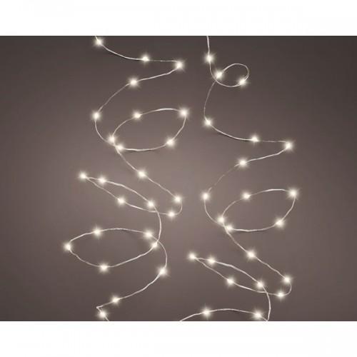 Luci di natale Kaemingk 180 micro LED bianco caldo string twinkle 9 m