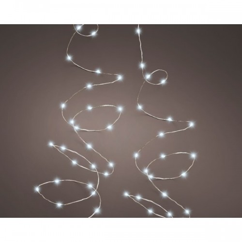 Luci di Natale bianco freddo 180 led Kaemingk 9 m