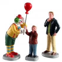 Lemax Friendly Clown villaggio di Natale