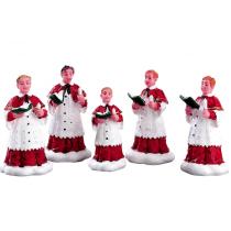 Lemax The Choir villaggio di Natale