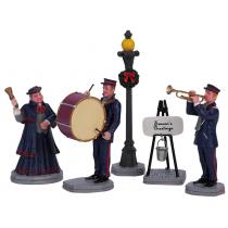 Lemax Christmas Band villaggio di Natale