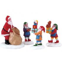 Lemax Present Procession villaggio di Natale