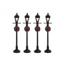 Lemax Gas Lantern Street Lamp villaggio di Natale