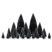 Lemax Assorted Pine Trees villaggio di Natale