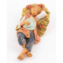 Statuetta presepe Fontanini Pastore dormiente 6.5 cm