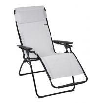 LAFUMA Relax FUTURA LFM3077 Sedia Pieghevole Multiposizione da esterno - In acciaio nero - Colore spuma
