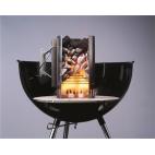 Kit ciminiera di accensione Rapidfire Weber  + 2 kg bricchetti + 6 cubetti accendifuoco 17631