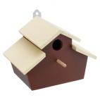 Greensun nest fun 3 nido in legno per uccelli selvatici