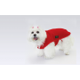 Fashion Dog cappottino per cani in pile rosso